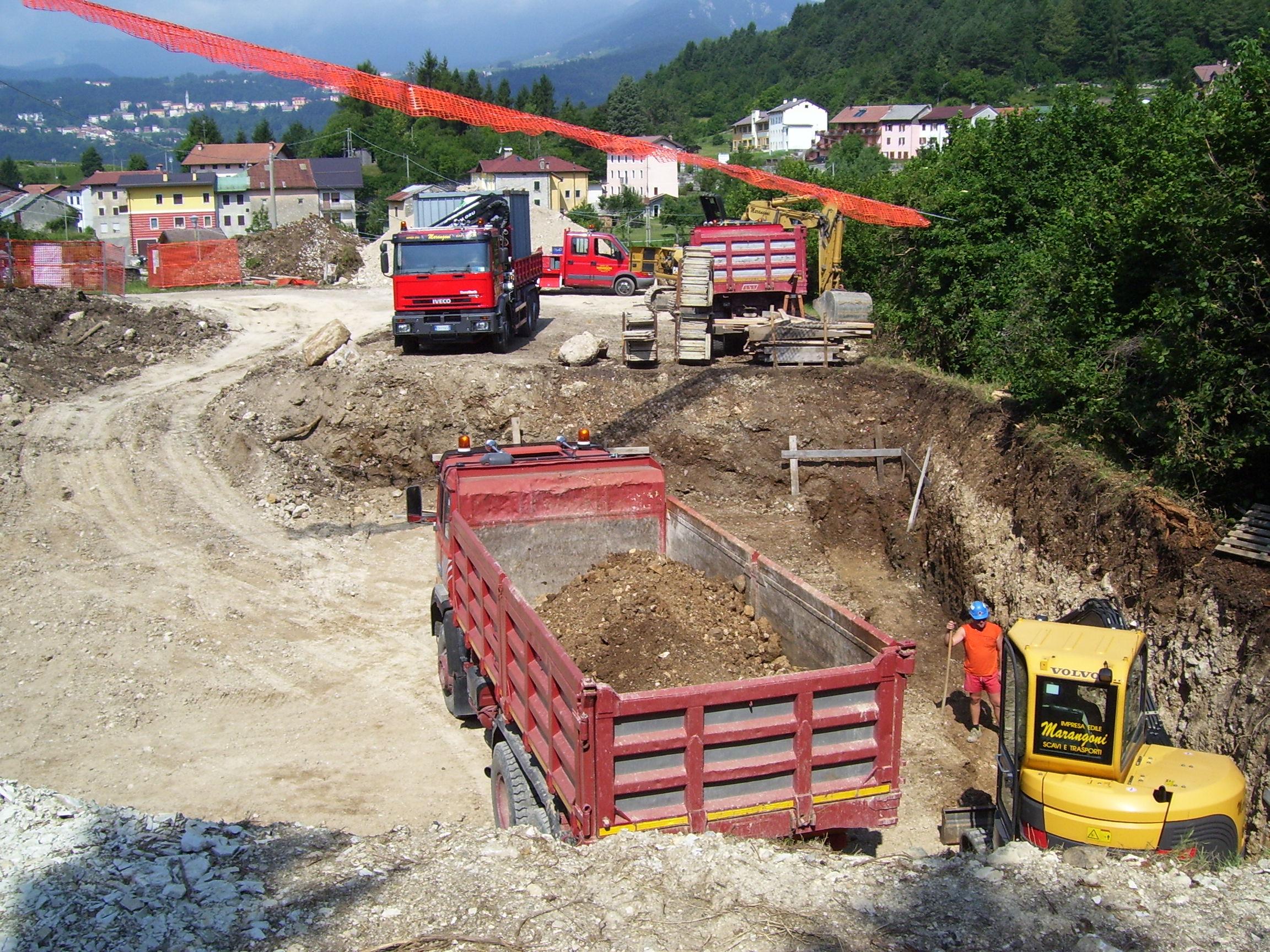 Opere di escavazione