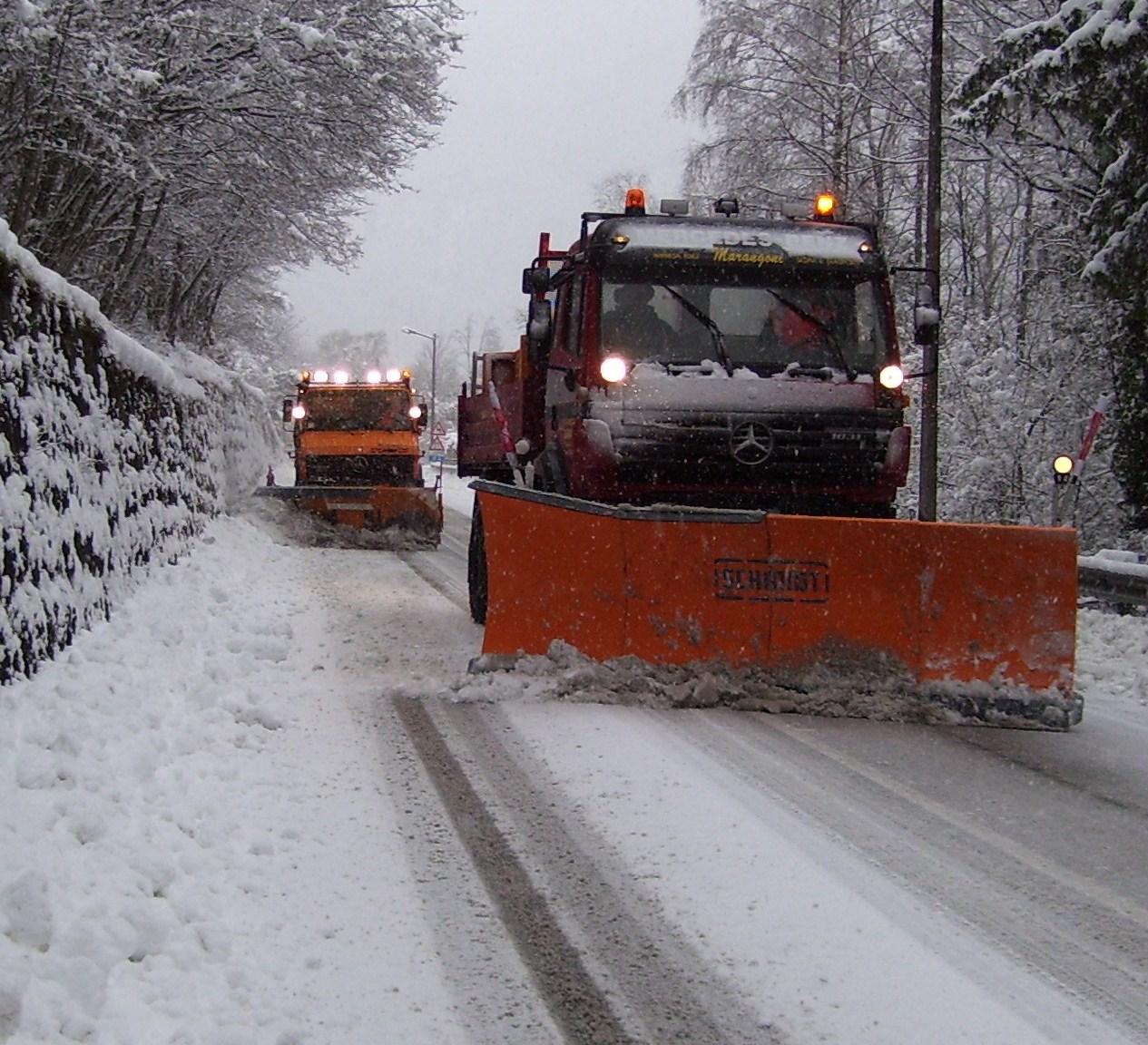 Servizio di sgombero neve