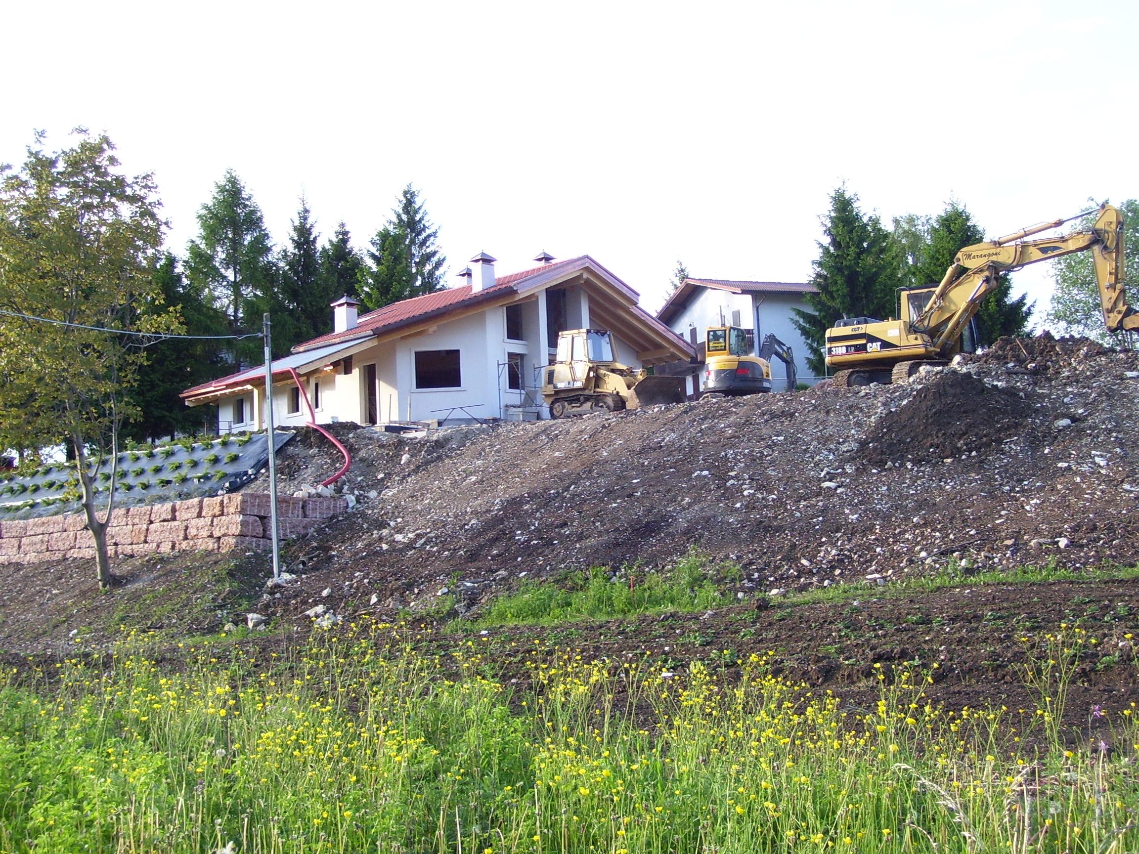 Costruzione di una casa unifamiliare a Rotzo