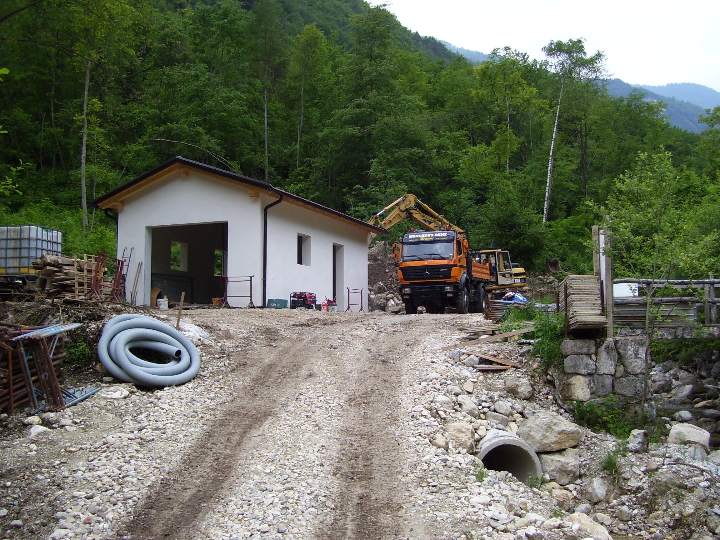 Realizzazione di una Centrale idroelettrica a Lastebasse